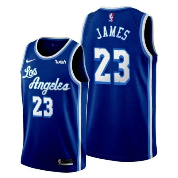 Shirts   Lakers Lebron James Blue Jersey   Poshmark